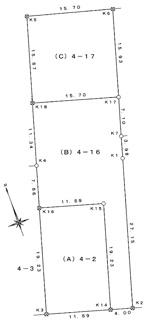 【土地図】SUNタウン中央C号地