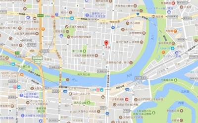 【地図】クレグラン天満