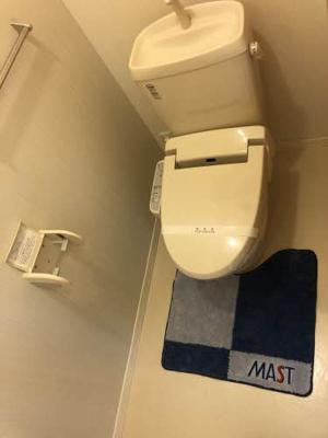【トイレ】グリーンコート上市 B棟