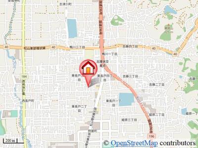 【地図】プレジオ A.B棟