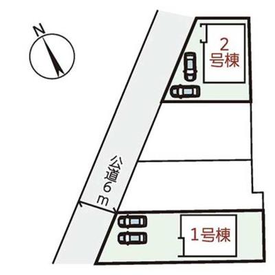 【区画図】リーブルガーデン上滝野2号地