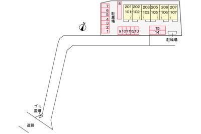 【区画図】サンリットヒルⅡ