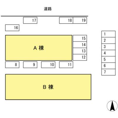 【区画図】寿ハイツ A棟