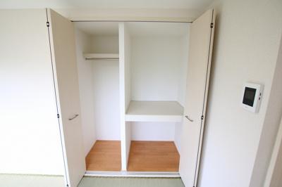 菅田ビル 和室には約1帖分のクローゼットがあります