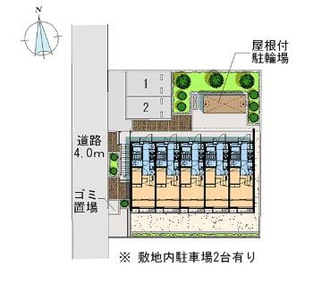 【その他共用部分】レオパレスBONHEUR弐番館(36037-105)