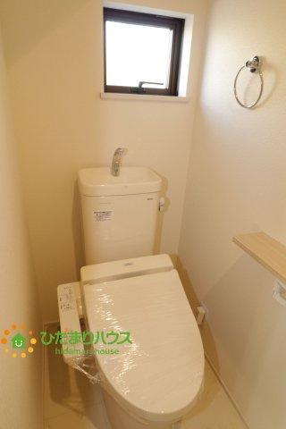 【トイレ】幸手市中1丁目 未 入 居 一戸建て