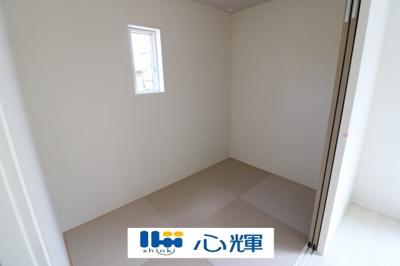 リビングから続く和室はゲストルームとしても使用できます。