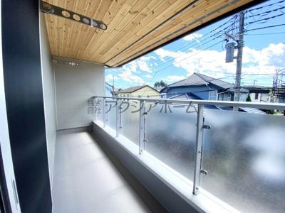 【バルコニー】入間市大字小谷田・全2棟 新築一戸建 B号棟
