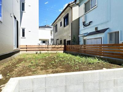 【庭】入間市大字小谷田・全2棟 新築一戸建 B号棟