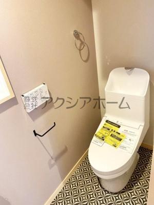 【トイレ】入間市大字小谷田・全2棟 新築一戸建 B号棟