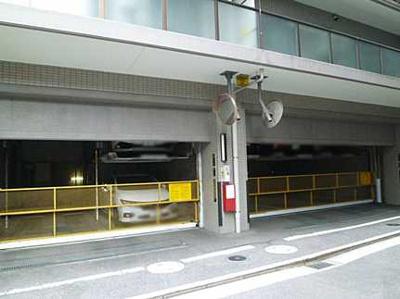 駐車場です(現在は空きがありません)