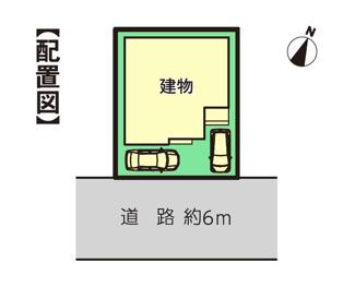 【区画図】沼津市中原町Ⅰ 新築戸建 全1棟 (1号棟)