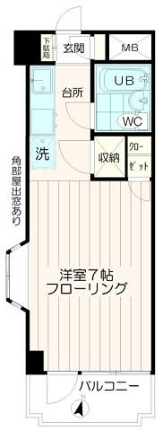 オートロックマンション【フラット永山】