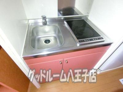 【キッチン】レオパレスNAKAGOME