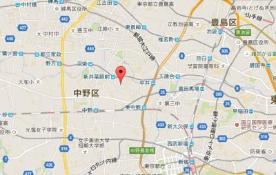 メゾン上高田の所在地