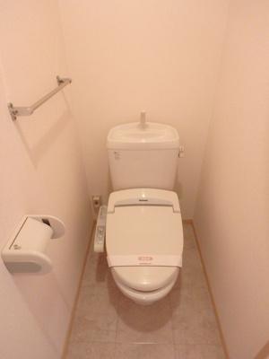 【トイレ】ウィルコート万々 A棟