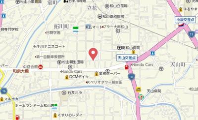 【地図】メゾン・ド・宮田Ⅱ
