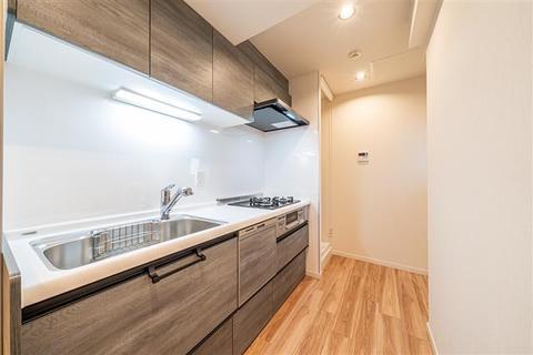 キッチンも新規交換につき快適です  食器洗乾燥機が標準装備です