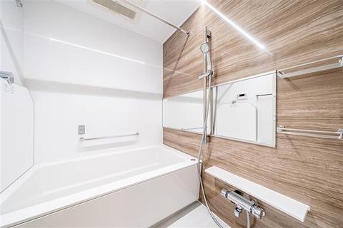 浴室も新規交換につき快適です  1416サイズの大型のシステムバスです