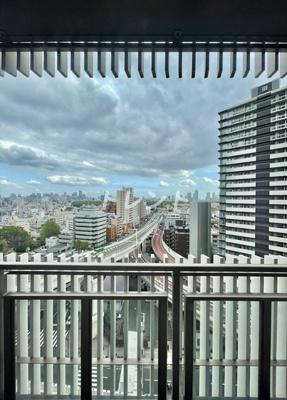 【バルコニー】フロンティア新宿タワー