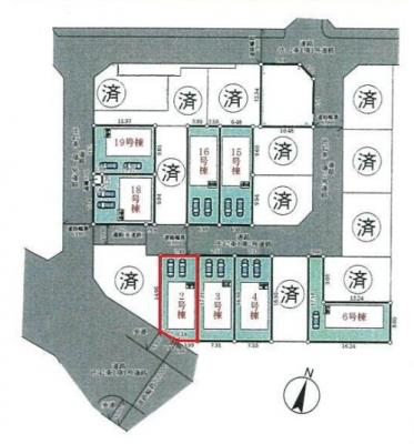 【区画図】神戸市垂水区青山台5丁目 2号棟 新築戸建