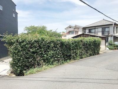【前面道路含む現地写真】岸和田市上町② 売土地