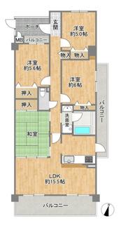 リフォーム済みにつき、室内ピカピカ☆即入居も可能です!