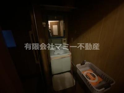 【洗面所】住吉住居付事務所H
