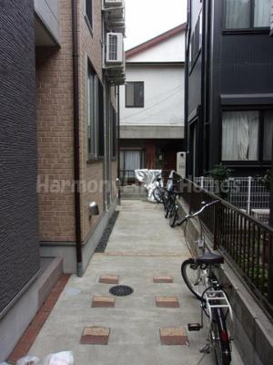 ハーモニーテラス北新宿の駐輪スペース☆
