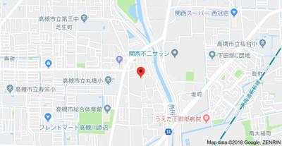 【地図】エステートピア吉田 (株)Roots