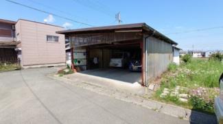 【外観】饗庭ガレージ付き土地