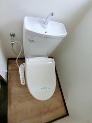 【トイレ】大木アパート