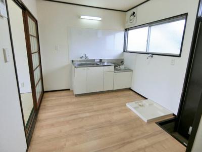 【キッチン】大木アパート