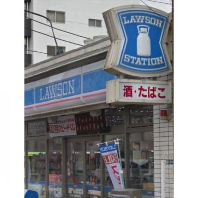 コンビニ「ローソン新馬場南口店まで250m」