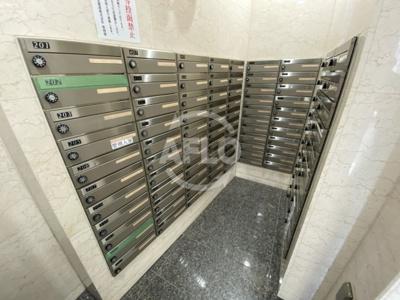 ノルデンタワー天神橋アネックス メールボックス