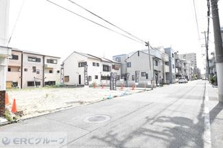 【前面道路含む現地写真】灘区友田町売土地【C号地】