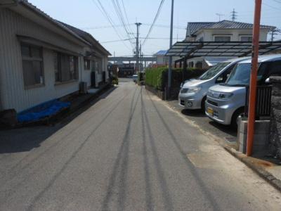 【前面道路含む現地写真】筑後市大字羽犬塚