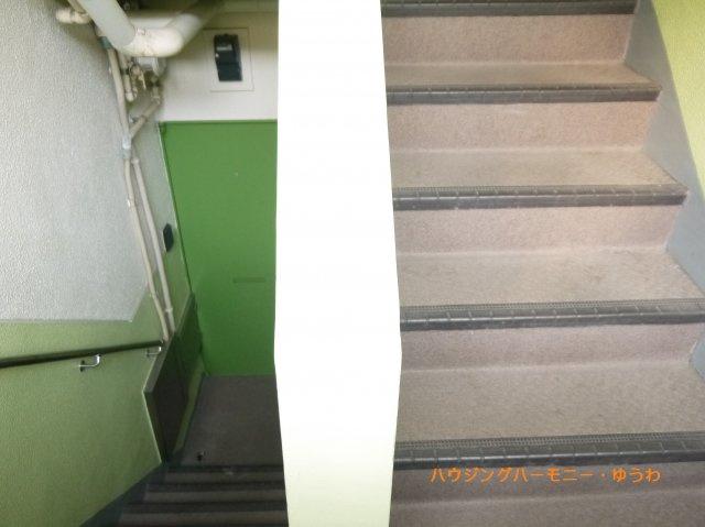 共有階段部分となります。