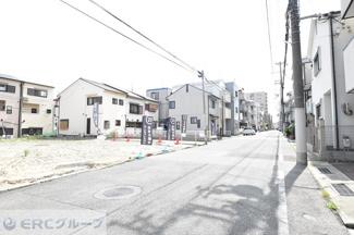【前面道路含む現地写真】灘区友田町2丁目売土地【A号地】