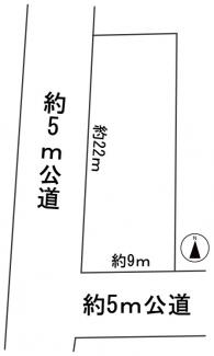【区画図】56996 不破郡垂井町土地