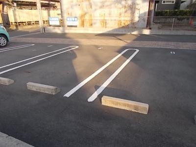 駐車場スペース。
