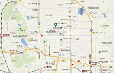 【地図】ベイリーフ河部A・B
