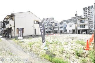 【前面道路含む現地写真】灘区友田町売土地【D号地】