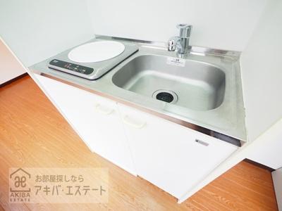 【キッチン】ダイヤモンドレジデンス西神田