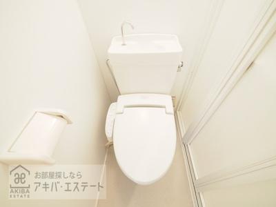【トイレ】ダイヤモンドレジデンス西神田