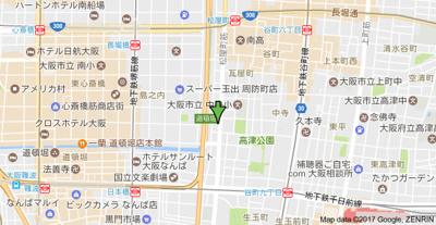 【地図】 エスリード心斎橋EAST