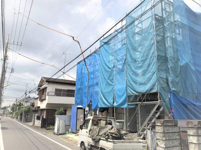 【外観】駅6分!建物105㎥の新築戸建て