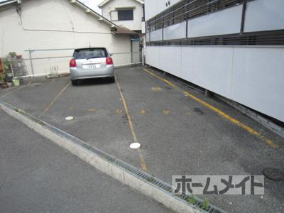 【駐車場】マンションふじ2号館