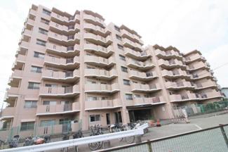 【サンロイヤル北園田】地上9階建 総戸数102戸 ご紹介のお部屋は最上階の9階部分角部屋です♪