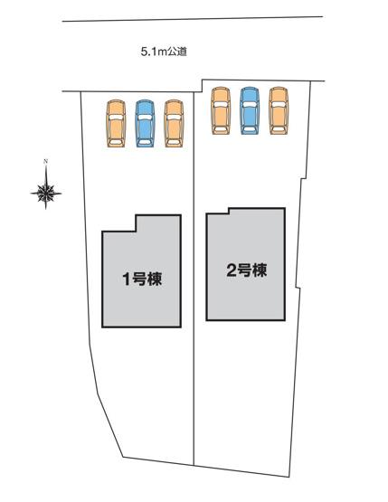 【区画図】第2高崎市宿大類町 2号棟/LiveleGarden.S